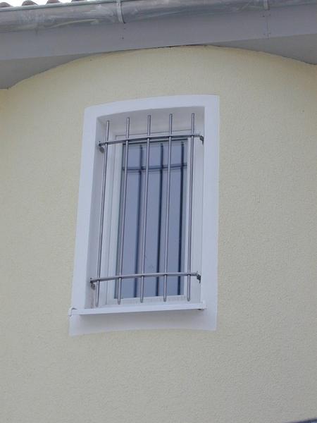 Fenstergitter trennw nde michael poitner gmbh - Fenstergitter in der laibung ...
