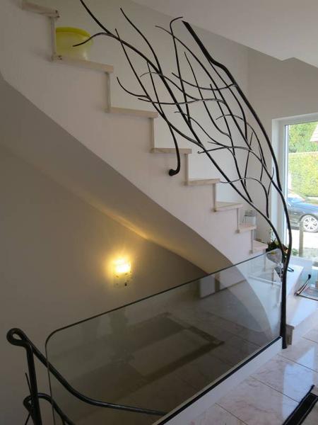 Individuell Gefertigte Treppen Treppengelander Und Handlaufe